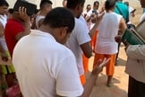 Detentos recebem acompanhamento religioso semanalmente no Acre. (Foto: Elenilson Oliveira)