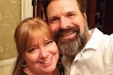 Mac Powell com a esposa Aimee. (Foto: Reprodução/Instagram)