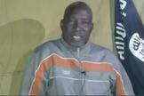 Lawan Andimi no cativeiro após ter sido sequestrado pelo Boko Haram. (Foto: Reprodução/Faithwire)