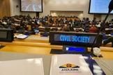 ANAJURE na Sessão Anual do Comitê da Organização das Nações Unidas (ONU) sobre ONGs em janeiro de 2020. (Foto: Assessoria de imprensa da ANAJURE)