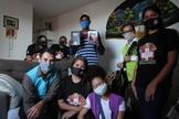 Famílias de núcleo habitacional no DF receberam visitas de cristãos. (Foto: Divulgação)