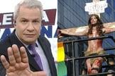 Sikêra Jr. foi condenado a pagar R$ 30 mil de indenização a trans crucificada. (Foto: Reprodução/Instagram)