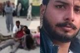 Usman Masih foi morto na porta de sua casa. (Foto: Reprodução / AsiaNews)