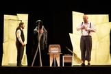 Temática do holocausto é abordada no espetáculo Guardado Em Silêncio. (Foto: CIA ALVO/Divulgação)