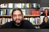 Fábio Coelho, líder do movimento Vozes e Trovões, em live para o Guiame. (Foto: Guiame)
