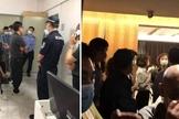 Igrejas são invadidas pela polícia chinesa durante culto de domingo. (Foto: Reprodução / China Aid)