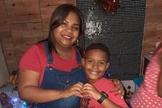 O menino Kaio Guilherme, de 8 anos, foi morto por uma bala perdida durante festa infantil. (Foto: Reprodução).