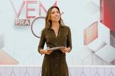 """Patrícia Abravanel é apresentadora do """"Vem Pra Cá"""". (Foto: Divulgação/SBT)"""