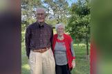 Fred e Christine Ivers celebraram 70 anos de casamento em maio. (Foto: Reprodução/KTAL News).