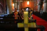 No Paquistão, mulheres cristãs são duplamente vulneráveis à perseguição, podendo ser raptadas e abusadas. (Foto: ARIF ALI / AFP via Getty Images).