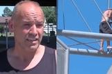 Rick Jewell disse ao homem na ponte que Deus o amava. (Foto: Kinzer/KTUL|Montagem Guiame)