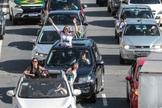 Carreata da Marcha para Jesus em São Paulo. (Foto: Bruno Escolastico/Photopress/Estadão Conteúdo)