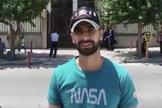 """""""Agradeço a Deus por me considerar digno de suportar a perseguição por causa Dele"""", disse o cristão iraniano. (Foto: Article 18)"""
