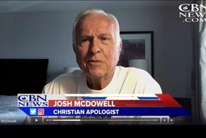 Pastor e escritor Josh McDowell. (Imagem: CBN News)