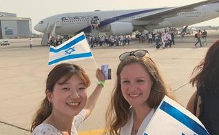 Cristãos da Coreia do Sul ajudam judeus no processo de aliyah em Israel. (Foto: One New Man Family)