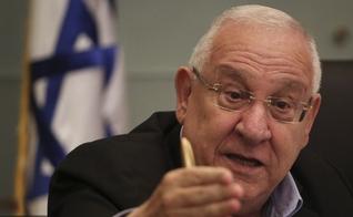 Presidente israelense Reuven Rivlin no Comitê de Finanças do Knesset. (Foto: Hadas Parush/Flash90)