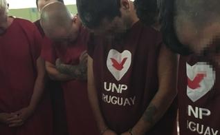 Um presídio no Uruguai foi palco do batismo de 48 detentos. (Foto: Universal nos Presídios)