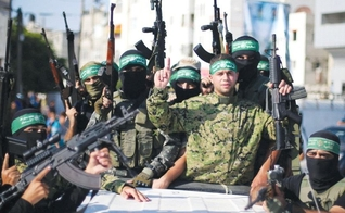 Terrorista do Hamas recebem salário da Autoridade Palestina, quando são presos por suas ações criminosas. (Foto: Jerusalém Post)