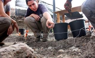 """Arqueólogos encontraram em Jaljulia uma espécie de """"paraíso"""" para caçadores-coletores pré-históricos. (Foto: Samuel Magal/Autoridade de Antiguidades de Israel)"""