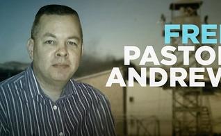 """Campanha do ACLJ diz """"Libertem o Pastor Brunson"""". (Imagem: ACLJ)"""