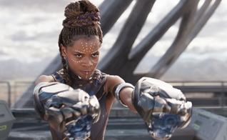 """Letitia Wright interpretou Shuri no filme """"Pantera Negra"""". (Foto: Marvel Entertainment)"""