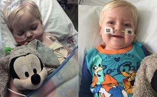 Dylan despertou do coma cerca de duas horas antes de seus aparelhos serem desligados no hospital. (Imagem: Daily Mail)