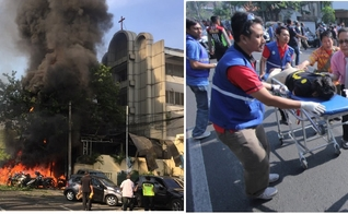 Três igrejas foram bombardeadas no penúltimo domingo, na Indonésia. (Foto: Spilled News)