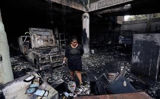 O incidente ocorreu no bairro de Carlos Marx, em Manágua. (Foto: AFP).