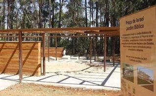 O Jardim Bíblico é parte de um espaço do Jardim Botânico de Brasília, destinado a contar parte da história de Israel. (Foto: Ana Rayssa/Esp. CB/D.A Press)