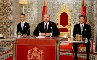 O rei do Marrocos, Mohammed VI, decretou ensino sobre o Holocausto nas escolas. (Foto: AP Photo/Moroccan Royal Palace)