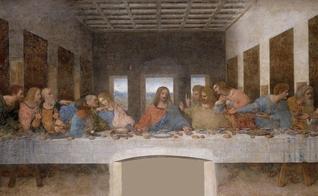 Última Ceia, por Leonardo da Vinci. (Imagem: Wikimedia Commons)