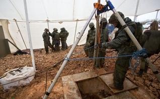 Ação das Forças de Defesa de Israel teve como objetivo destruir túneis construídos pelo grupo terrorista Hezbollah. (Foto: AP Photo)