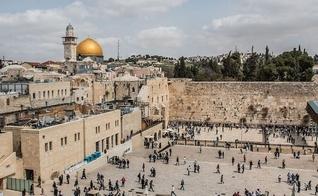 Muro das Lamentações, em Jerusalém, será um dos locais sagrados de Jerusalém aberto para visitação virtual durante a Páscoa. (Foto: Google Maps)
