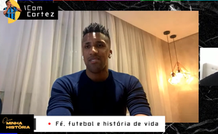 """Bruno Cortez na série """"Ouça Minha História"""", transmitida ao vivo pelo Guiame. (Foto: Guiame)"""