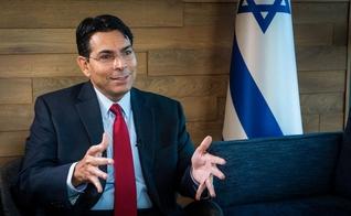 Danny Danon é o embaixador de Israel na ONU. (Foto: CBN News / Jonathan Goff)