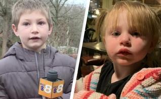 O pequeno Eli entrou pela janela em sua casa que estava em chamas, para resgatar a irmã mais nova. (Imagem: UNILAD)