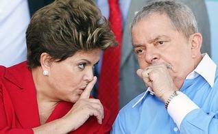 O ex-presidente Lula foi recentemente alvo de uma ação de condução coercitiva - parte da Operação Lava Jato - e agora conta com o apoio da presidente Dilma.