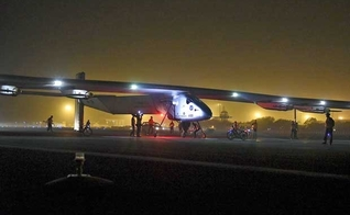 Solar Impulse II chega à Índia