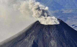 Vulcão Villarrica, no sul do Chile