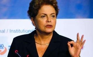 Presidente Dilma durante cerimonia