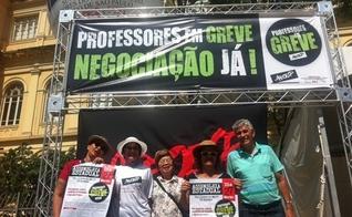 greve dos professores