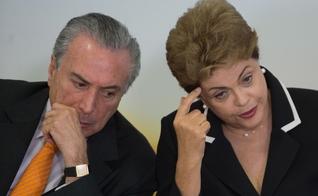 Dilma Rousseff e Michel Temer. (Foto: Notibrás)