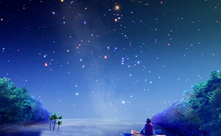 Céu estrelado. (Imagem: Sonhar e Significado)