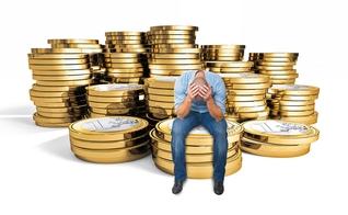 Falsa riqueza. (Imagem: Google)