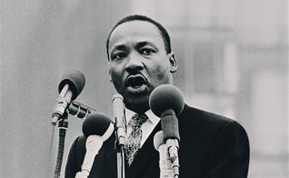 King foi um dos mais eloquentes e poderosos discursadores da história dos Estados Unidos. (Foto: Reprodução).