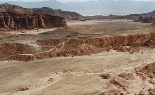 Esterco de 3 mil anos foi encontrado num antigo campo de mineração no Vale Timna, em Israel. (Foto: Erez Ben-Yosef/CTV Project)