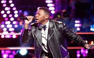 Chris Blue é candidato do The Voice e está na final do programa. (Imagem: Youtube)