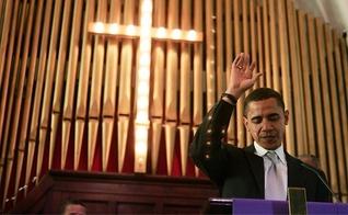 O número de cristãos caiu de 78% para 71% da população durante os dois mandatos de Barack Obama. (Foto: Reprodução)