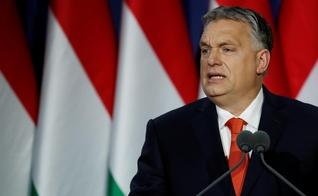O primeiro-ministro húngaro, Viktor Orban, discursa em Budapeste, na Hungria. (Foto: Reuters/Bernadett Szabo)