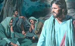 O Mestre deixa os discípulos vigiando, pede que fiquem esperando por ele enquanto vai orar. (Imagem: librodecielo.com)